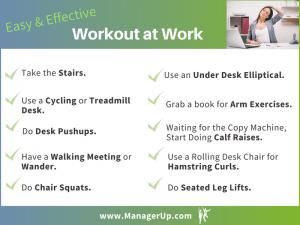 workout at work